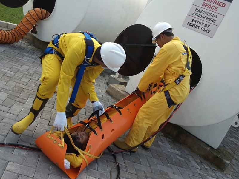Confined Space Entry & Rescue